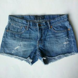 Lucky Brand Malibu Jean Cut Off Shorts 2 26